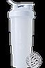 Спортивный шейкер BlenderBottle Classic Loop 940ml White (ORIGINAL)