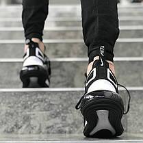 """Кроссовки Nike Air Max 720 """"Black/White"""" (Черные/Белые), фото 3"""