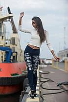 Штаны джинс 07470, фото 3