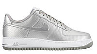"Кроссовки Nike Air Force 1 07 LV8 ""Dream Team-Metallic Silver""  (Копия ААА+)"
