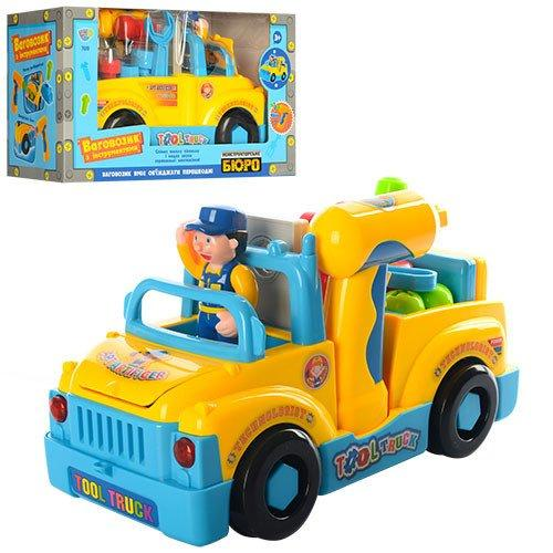 Конструктор машинка-грузовик с набором инструментов Hola 789