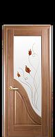 Полотно Амата ПВХ Deluxe от Новый стиль (золотая ольха,золотой дуб, каштан,ясень,белый матовый)