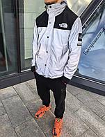 Рефлективная Куртка Supreme x The north face ( Black )
