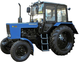 Трактор МТЗ-82.1 с передним ведущим мостом балочного типа