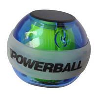 Кистевой тренажер Powerball светящийся в темноте