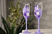 Свадебные бокалы  №1403