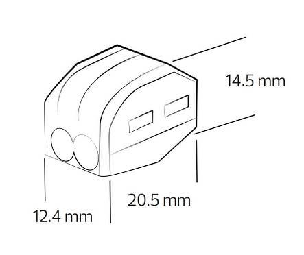 Клемник для кабеля CONNECTOR-2, фото 2