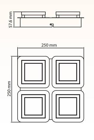 Потолочный светильник LIKYA-4, фото 2
