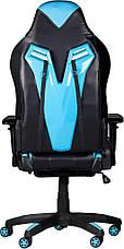 Детское компьютерное кресло Barsky Game Black/Blue BG-01, фото 2
