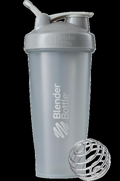 Спортивный шейкер BlenderBottle Classic Loop 820ml Grey (ORIGINAL), фото 1