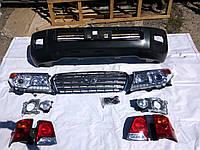 Обвес рестайлинга Toyota Land Cruiser 200 c 2007 в 2013 год