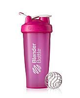 Спортивный шейкер BlenderBottle Classic Loop 820ml Pink (ORIGINAL), фото 1