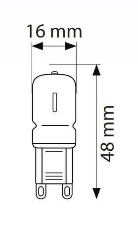 Светодиодная лампа DECO-3-3K, фото 2