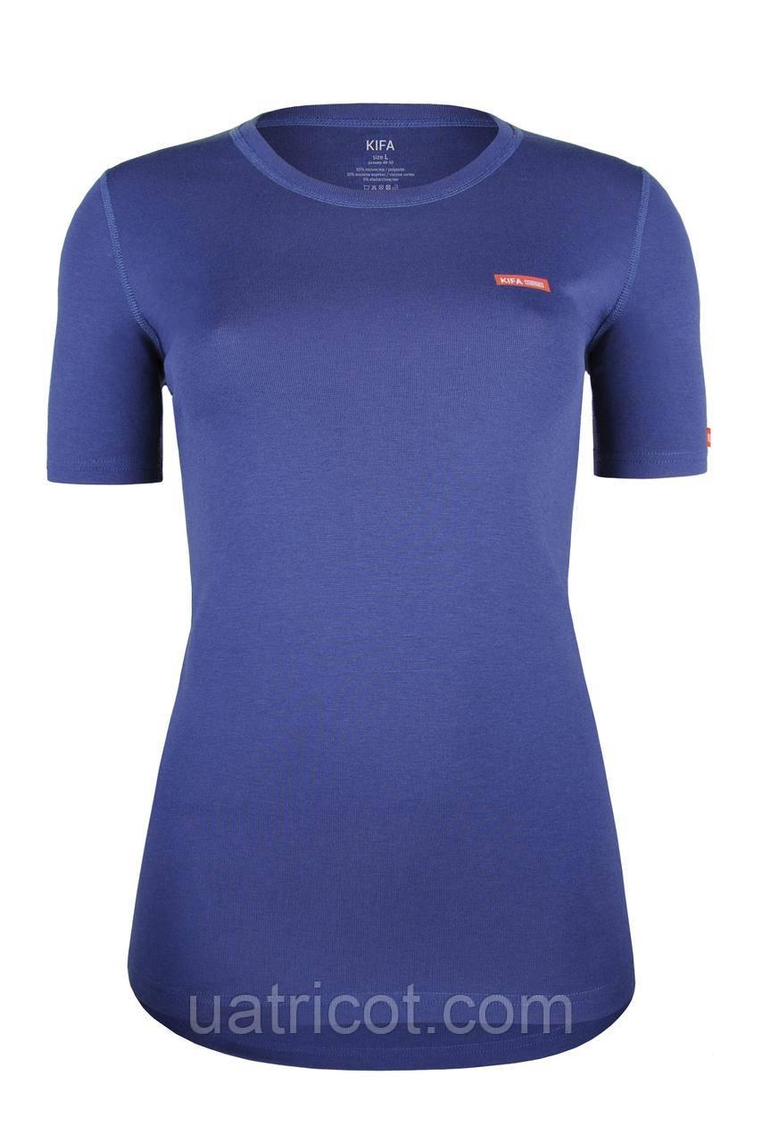 Термофутболка женская ФЖ-529 Vortex Activ Comfort (синий)