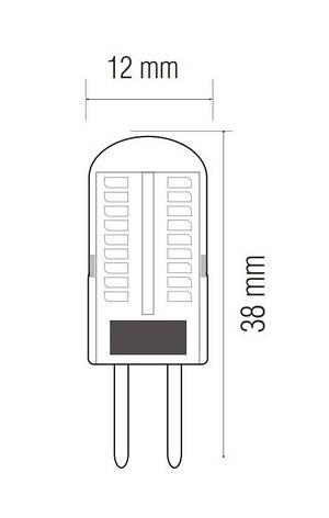 Светодиодная лампа MICRO-3-3K, фото 2