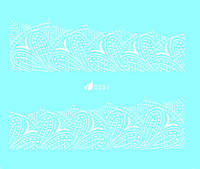 """Слайдер - дизайн серии  """"Кружево"""" (D 351)"""