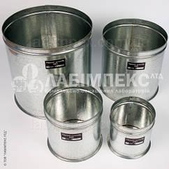 Мерный цилиндр МП для песка, щебня (набор: 1, 2, 5, 10 л)