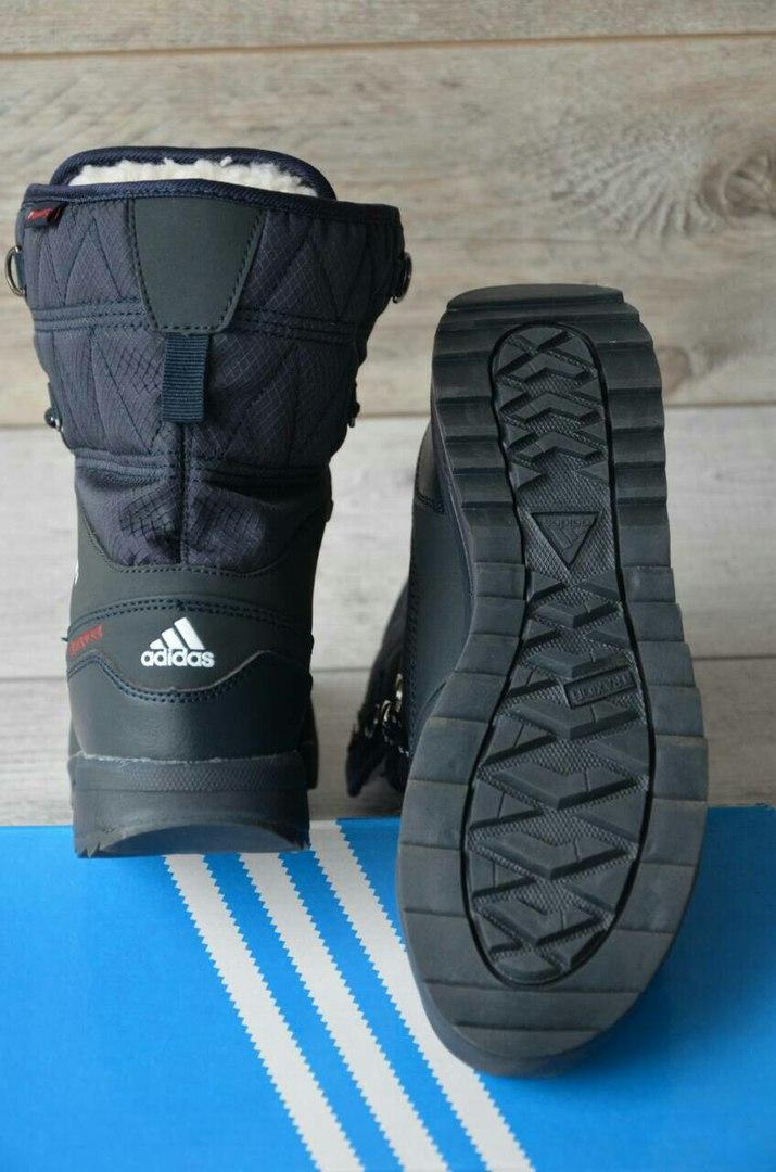 5b3927c5 Зимние женские сапоги Adidas Terrex 2 темно-синие: продажа, цена в ...