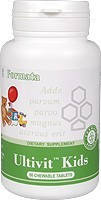 Ultivit™ Kids (60) Ультивит Кидс / Детские жевательные, вкусные витамины