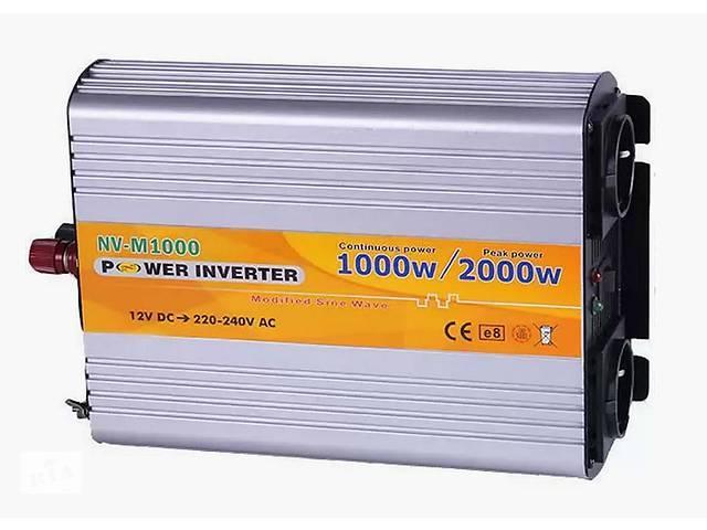 Инвертор NV-M 1000Вт 12-220 + USB