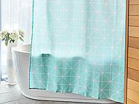 Штора для ванной Dormeo Fantasia 180 x180 см  Бирюзовый