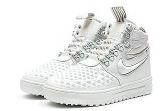 Кроссовки женские Nike AF1, белые 30083