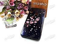 Чехол Glass Case Xiaomi Mi A2 Lite (sakura)