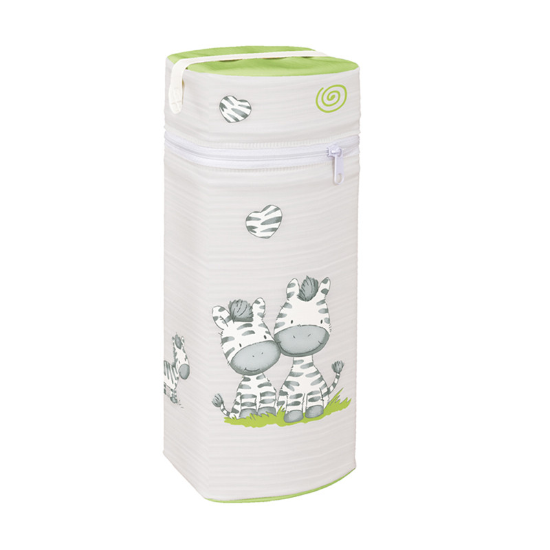 Термоупаковка CebaBaby Jambo (Серый с салатовым)