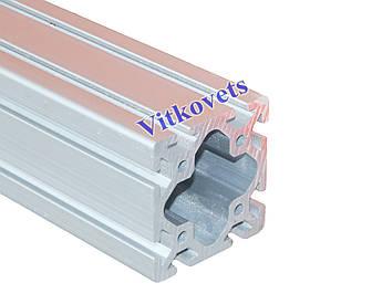 Станочный алюминиевый профиль  80х80W 3000мм
