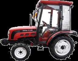 Мини-трактор LOVOL FT 244 с кабиной