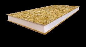 SIP панель KLIMM - ПБС-С-25 Neopor - для внешних и внутренних стен, крыши (Пенополистирол серый) 2.5 м., 174