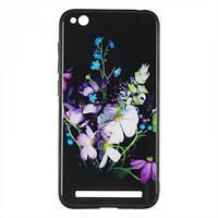 Чехол-накладка iPaky Print Series for iPhone 7 Flower Bouquet (G80)