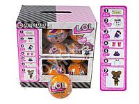 Кукла LOL,8 см,в шаре10 см-св,аксесс, на батарейке (табл),18 шт( микс вид) в дисплее (цена за 1шт)