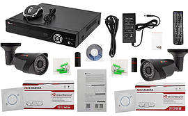 Комплект IP видеонаблюдения PoliceCam NVR-KIT2104 - 2 outdoor