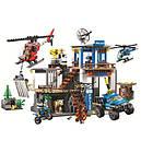 Конструктор Bela 10865 (Lego City 60174) Полицейский участок в горах, 705 дет., фото 2