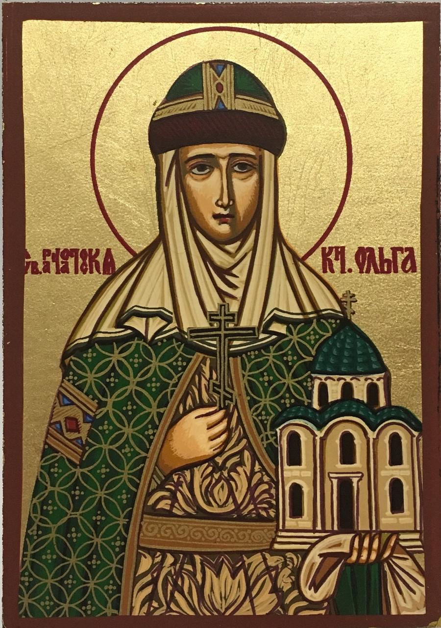 Икона святая Ольга