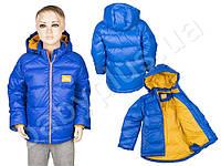 Куртка-пуховик. 90% пух, 10% перо (рост 110)