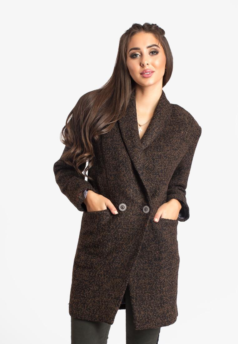Пальто LiLove 383-1 52-54 коричневый