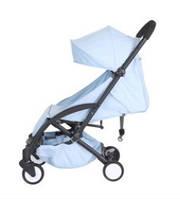 Yoya Care Wide Blue Голубая Прогулочная детская коляска Алюминиевая