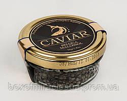 Осетровая икра черная белуги 50гр Aquatir - Акватир Приднестровье стеклобанка