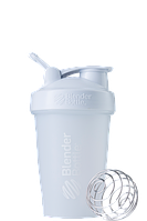 Спортивный шейкер BlenderBottle Classic Loop 590ml White (ORIGINAL), фото 1