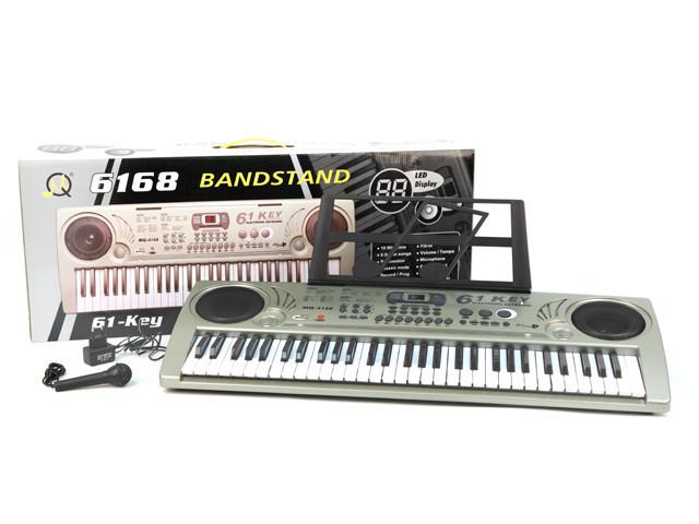 Детский орган синтезатор MQ 6168 с микрофоном