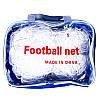 Сетка на ворота футбольные любительская узловая (2шт) (нить 3мм, ячейка 7x7см, р-р 5*3 м)