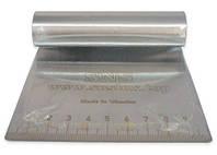 Шпатель кондитерский металлический с разметкой 10 см
