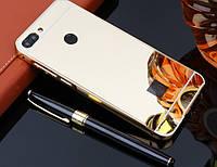Алюминиевый чехол бампер для Huawei P Smart, фото 1