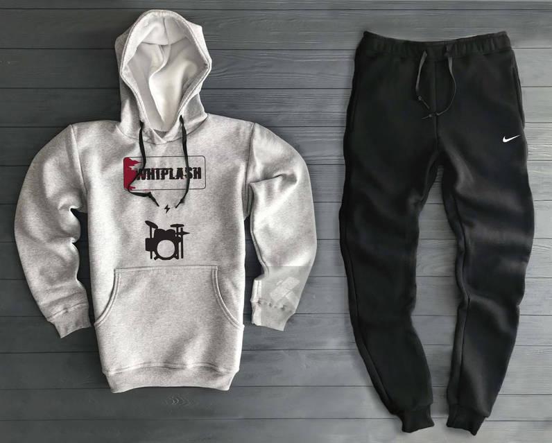 Теплый мужской спортивный костюм Nike