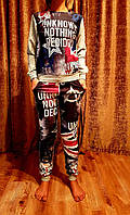 Женские спортивные костюмы (Турция). В ростовке 4шт. Размеры S-M-L-XL(42-50), фото 1