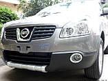 Накладка на передний и задний бампера Nissan Qashqai (2008-2013), фото 8