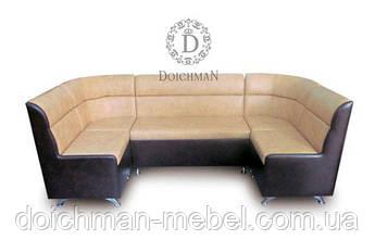 П-образный уголок для кухни, диван для кафе, баров, приемных