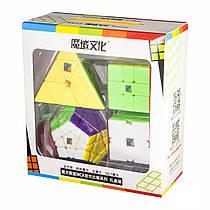 Набір кольорових кубиків Набір MoYu WCA Cube Gift Set 809305